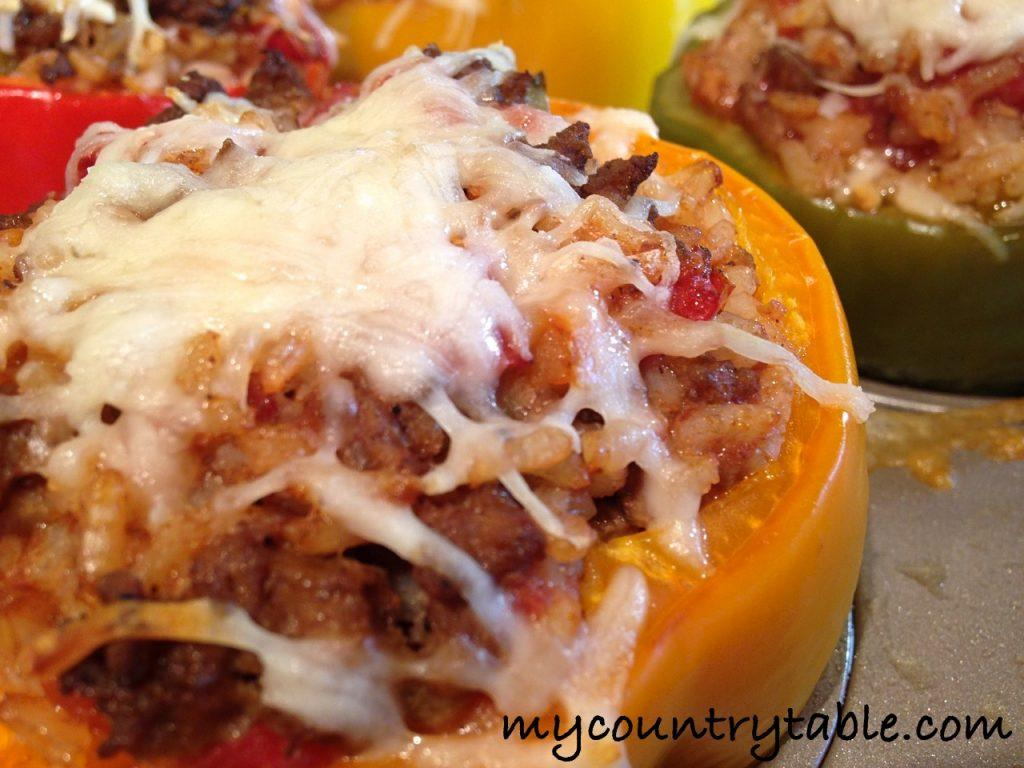 Classic Stuffed Bell Peppers - 23_Fotor
