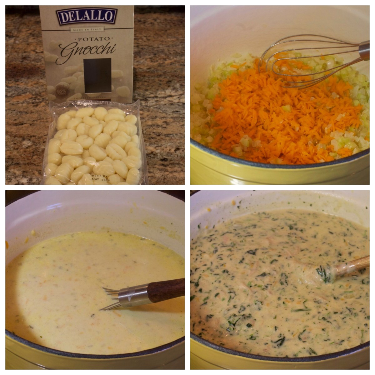 Creamy Chicken Gnocchi Soup - My Country Table