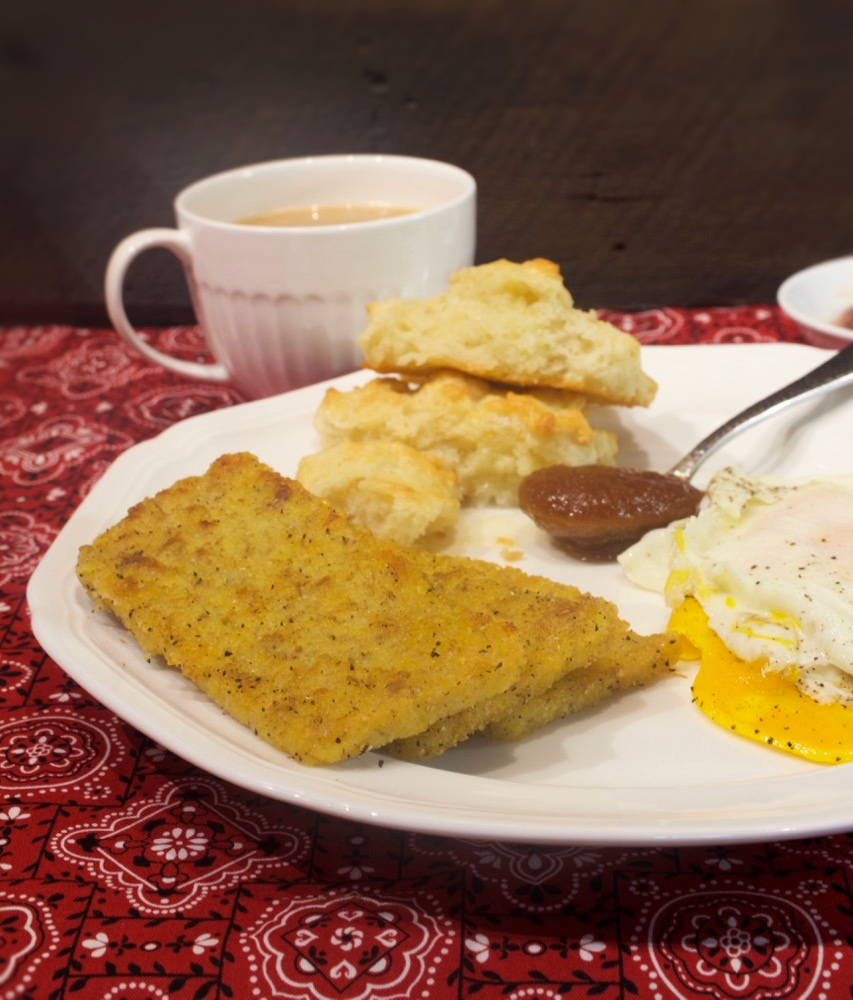 Homemade Scrapple