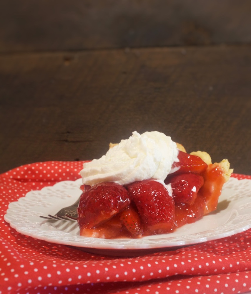 Strawberry Glaze Pie (no jello)