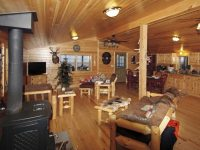 Log Cabin Interior Ideas & Home Floor Plans Designed in PA
