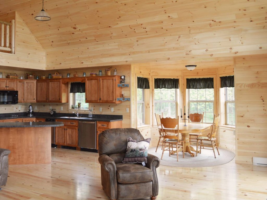 Interior log cabins pictures Floor plans with pictures of interiors