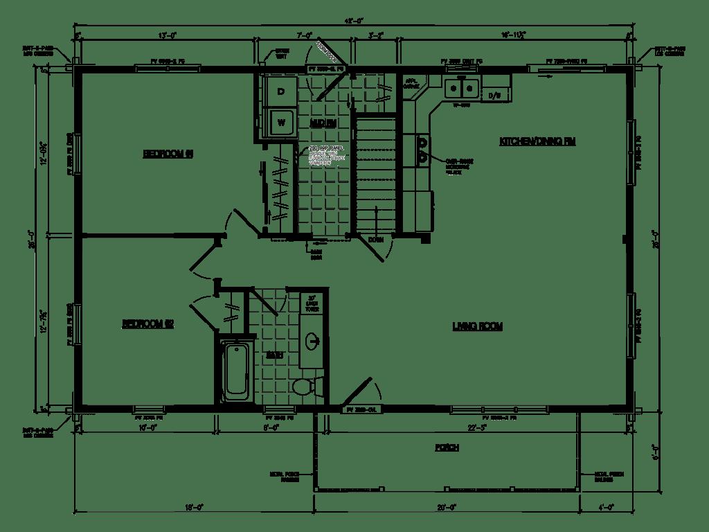 Tour Our Log Cabin Amp Modular Home Models