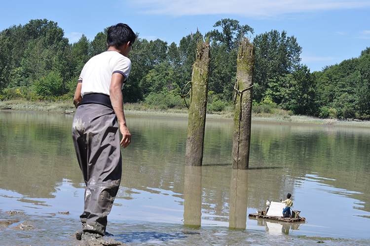 Cozy Classics - Huckleberry Finn - Behind the scenes - River