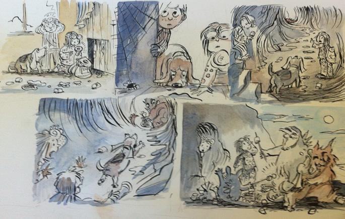 Cozy Classics - WA OR SCWBI Illustrators Retreat 13 (Karen Lewis)