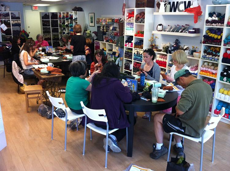 Wet Coast Wools Workshop - Star Wars Epic Yarns 4