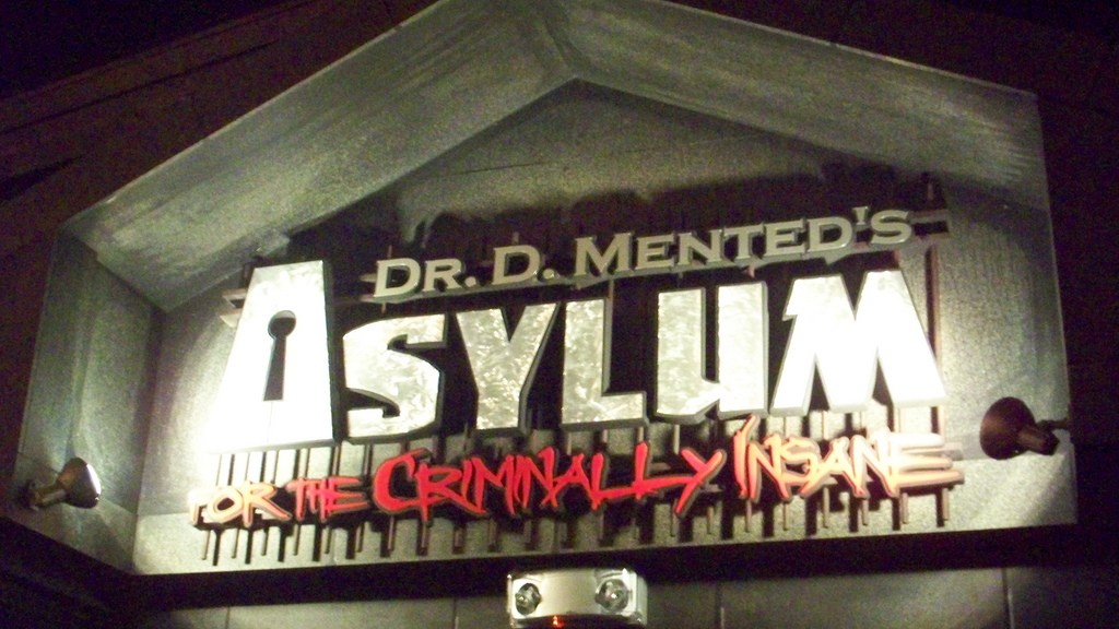 Dr. D. Mented's Asylum for the Criminally Insane