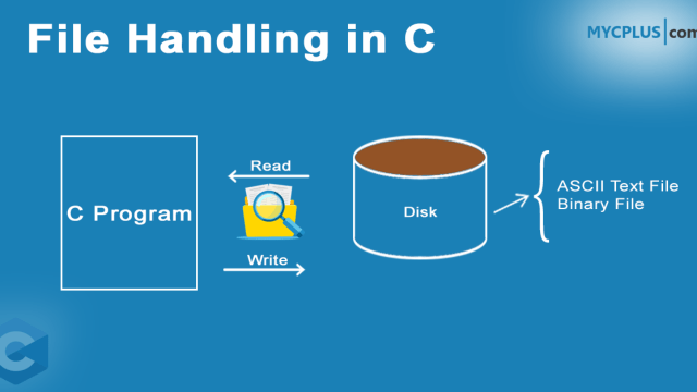 File Handling in C – MYCPLUS - C and C++ Programming Resources