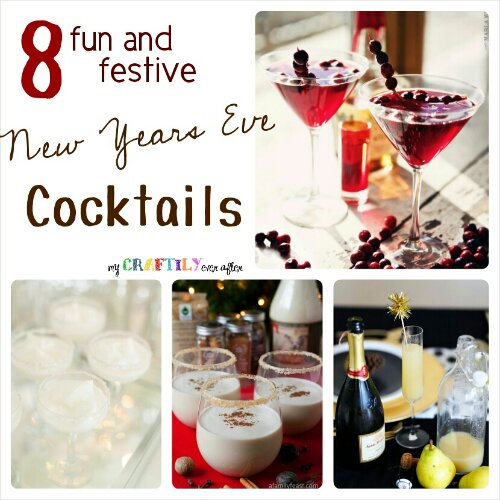 Fun Cocktails for New Years Eve