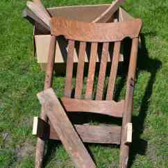 Wood Rocking Chair Parts Vintage Style Salon Chairs The Potential Of A Broken My Creative Days