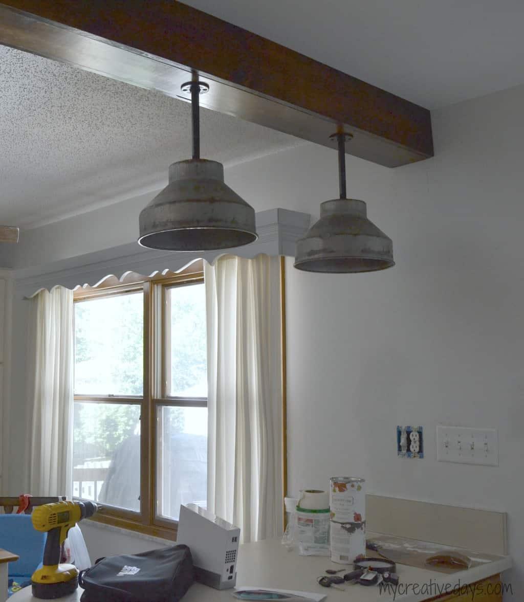 kitchen lights fixtures home styles island diy light part 2 my creative days