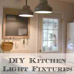 Kitchen Lights Fixtures Amish Made Cabinets Diy Light Part 2 My Creative Days