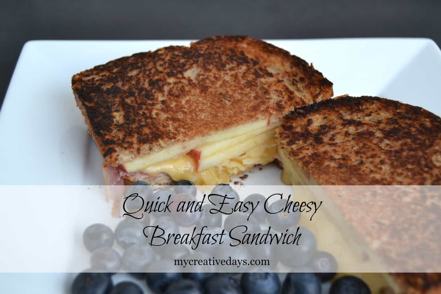 breakfast sandwich is so yummy and quick to make i love recipes