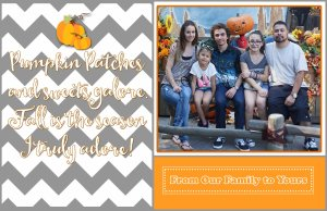 Printable Fall Greeting Card – Free Download