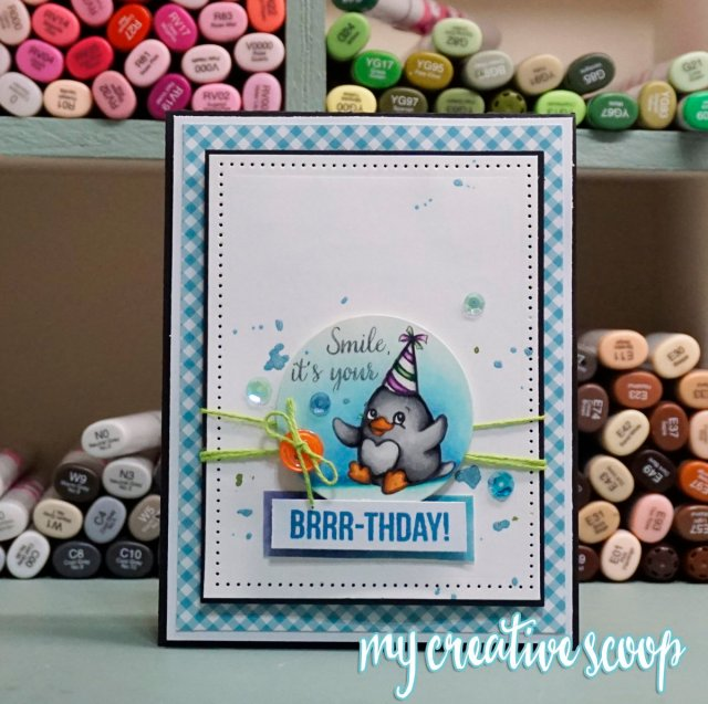1 Simple Way to Create Productively - Your Next Stamp - Birthday Card
