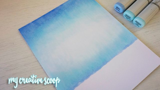 Create an Outdoor scene using Copic Markers
