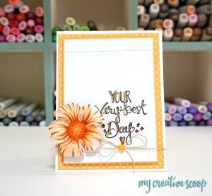 Coloring Die Cuts with Copic Markers