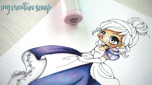 iridescent Coloring Technique using Copic Markers 13