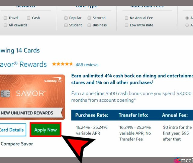 Https Www Capitalone Com Credit Cards Compare