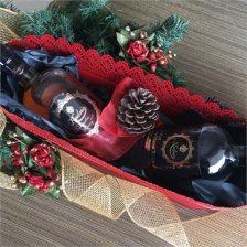 Ρακή & Ρακόμελο Κέντρια για Χριστουγεννιάτικο Δώρο