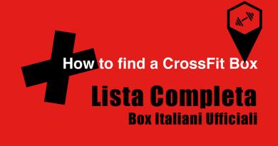 Box Crossfit Ufficiali