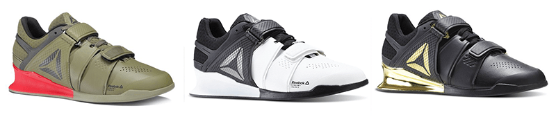 colorazioni reebok legacy lifter