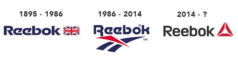 evoluzione logo reebok
