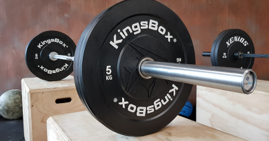 Bilanciere olimpico CrossFit Royal Bar di Kings Box