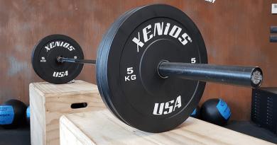 Bilanciere Olimpico CrossFit xenios black rod