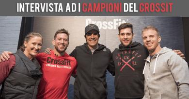 Intervista Esclusiva a : Dave Castro - Dan Baley - Tia Toomey CrossFit