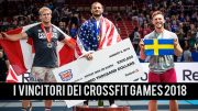 BREAKING NEWS | Tutti i Vincitori dei CrossFit Games 2018