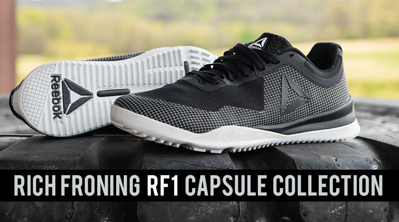 Rich Froning presenta la Capsule Collection per Reebok RF1