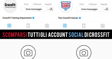 SCOMPARSI ACCOUNT SOCIAL CROSSFIT