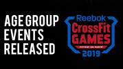 BREAKING NEWS | Rilasciati i wod per gli Age Group dei CrossFit Games 2019