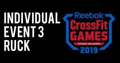 Evento 3 CrossFit Games