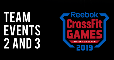TEAM EVENT 23 CROSSFIT GAMES