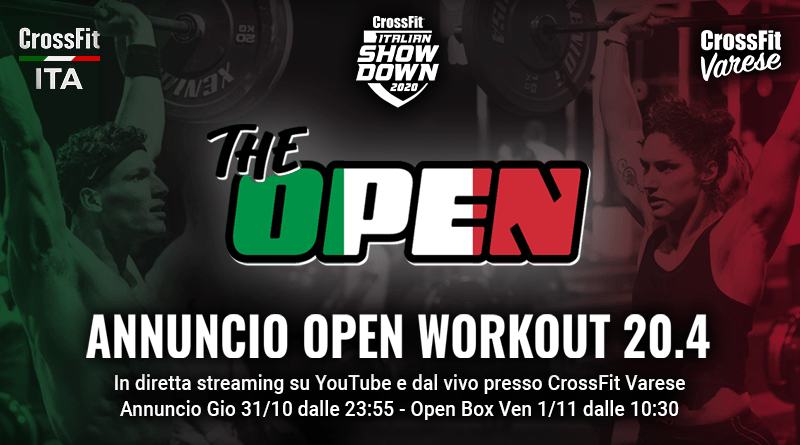 Open 20.4 CrossFit Italian Showdown