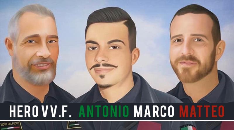 ANTONIO MARCO MATTEO hero wod CrossFit