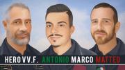 Hero wod VV.F. ANTONIO MARCO MATTEO CrossFit