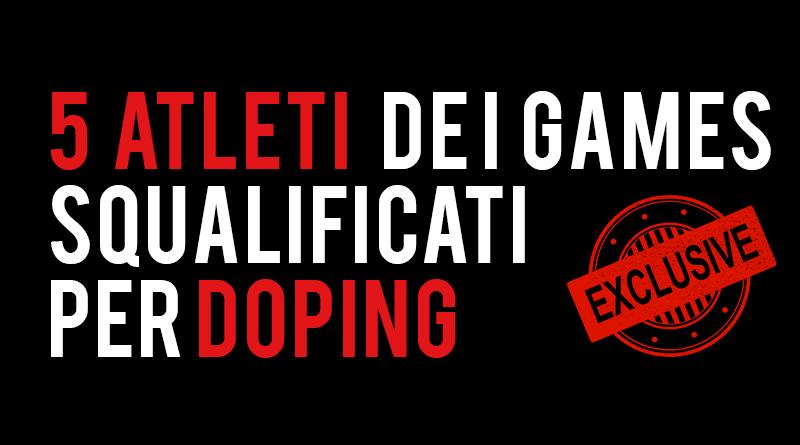 CrossFit Games 5 atleti bannati per doping