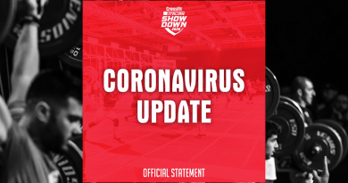 CrossFit Italian Showdown Update coronavirus