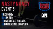 Nasty Nancy | 5 Evento dei CrossFit Games 2020
