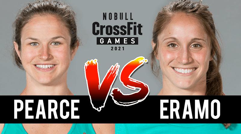 Pearce VS Kristi Eramo CROSSFIT OPEN 20.1