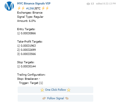 Crypto Signals - Example