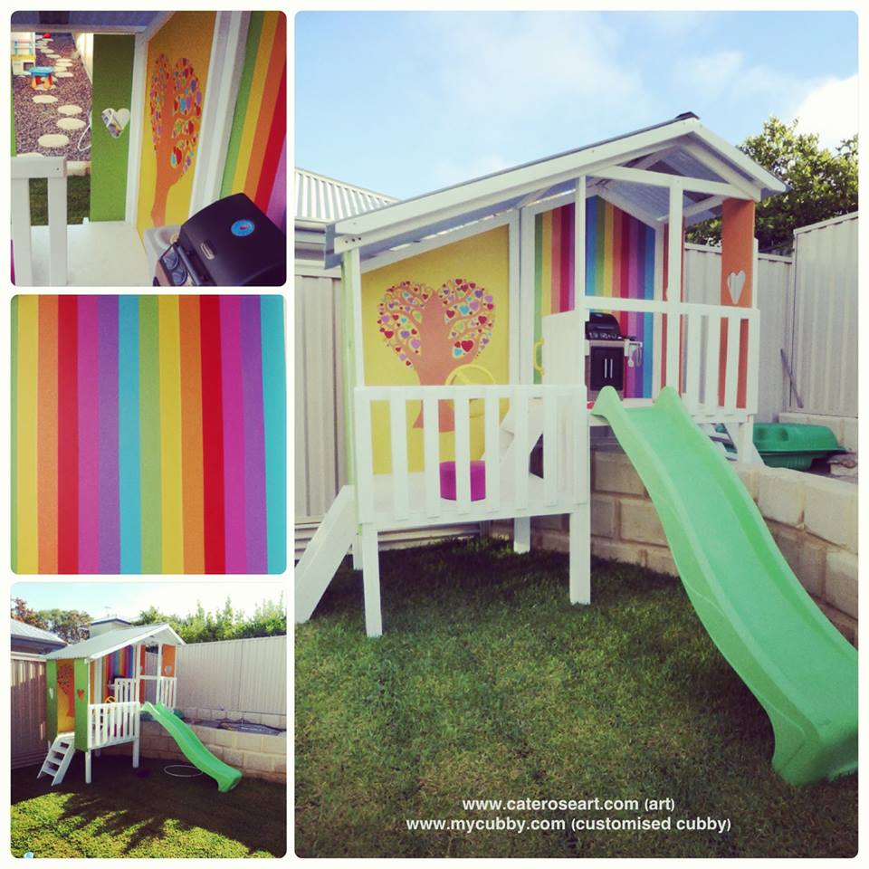 Tips And Ideas For Painting Your Cubby Blog My Cubby