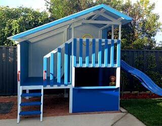 Cubby House Kits Kids Wooden Cubby Houses My Cubby MyCubby