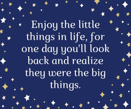 little things more happiness