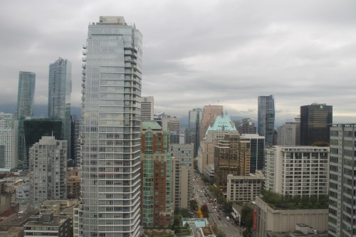 Vancouver hotel view