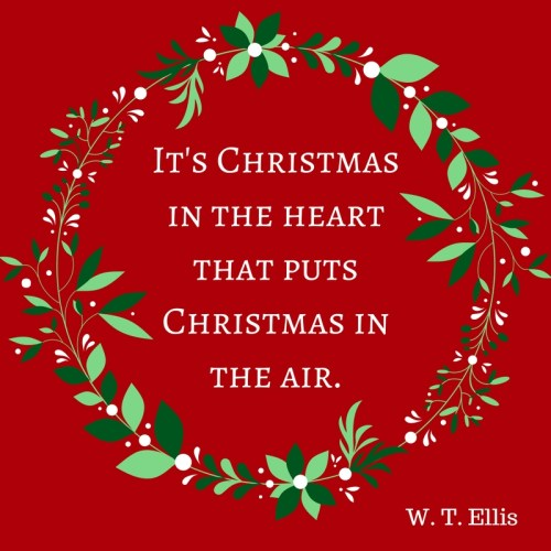 Heart Christmas quote