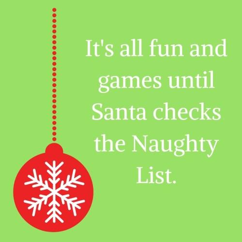 naughty christmas quote